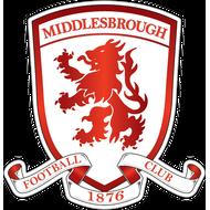 Наклейка Middlesbrough FC, фото 1