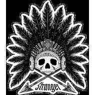 Наклейка Череп 120, фото 1