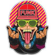 Наклейка Monkey Funk, фото 1