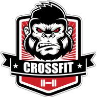 Наклейка Crossfit, фото 1