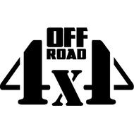 Наклейка Off Road 4x4, фото 1