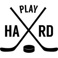 Наклейка Play hard, фото 1