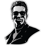 Наклейка Terminator, фото 1