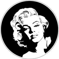 Наклейка Marilyn Monroe, фото 1