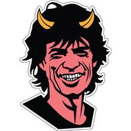 Наклейка Mick Jagger, фото 1