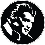 Наклейка Elvis Presley, фото 1