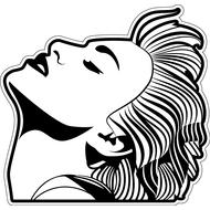 Наклейка Madonna, фото 1
