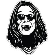 Наклейка Ozzy Osbourne, фото 1