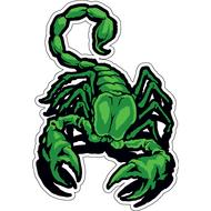 Наклейка Скорпион-001, фото 1