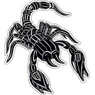 Наклейка Скорпион-006, фото 1