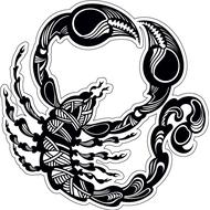 Наклейка Скорпион-007, фото 1