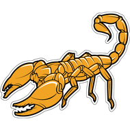 Наклейка Скорпион-010, фото 1