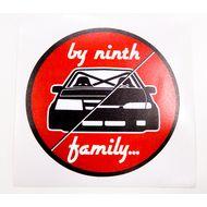 Наклейка Ninth family, фото 1