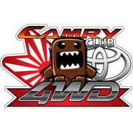 Наклейка Camry Club, фото 1