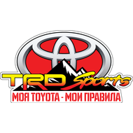 Наклейка Toyota TRD Sports, фото 1