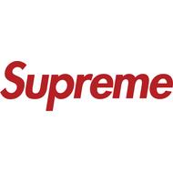 Наклейка Supreme без фона, фото 1