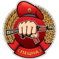 Наклейка Спецназ, фото 1