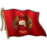 Наклейка Флаг Спецназа, фото 1