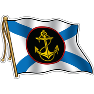 Наклейка Флаг Морской пехоты, фото 1