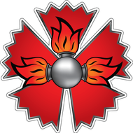 Наклейка Эмблема ГРУ, фото 1