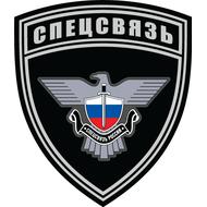 Наклейка Спецсвязь России, фото 1