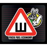 Наклейка Шипы Fuck fuel economy, фото 1