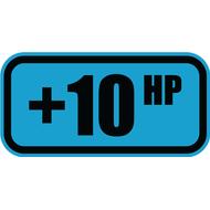 Наклейка +10HP, фото 1