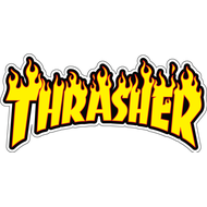 Наклейка Thrasher, фото 1