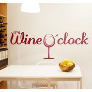 Наклейка Wine O'clock, фото 1