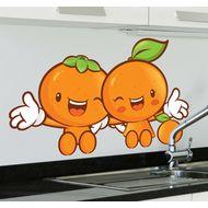 Наклейка Веселые апельсинчики, фото 1
