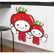 Наклейка Веселые помидорки, фото 1