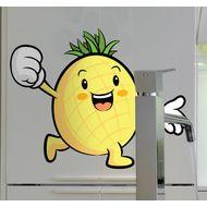 Наклейка Веселый ананасик, фото 1