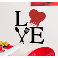 Наклейка Love to cook, фото 1