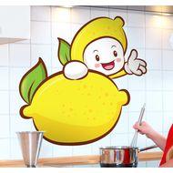 Наклейка Веселый лимончик, фото 1