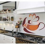 Наклейка Чашка ароматного кофе, фото 1