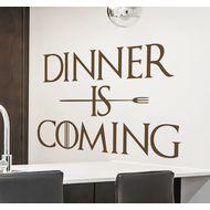 Наклейка Dinner is coming, фото 1