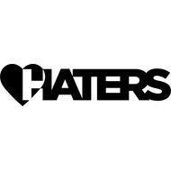Наклейка Love Haters, фото 1