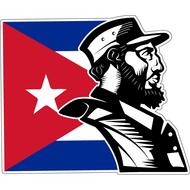 Наклейка Fidel Castro, фото 1