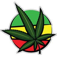 Наклейка Cannabis Symbol, фото 1