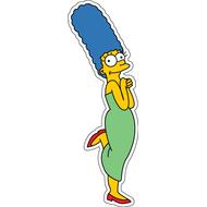 Наклейка Мардж Симпсон, фото 1