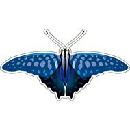 Наклейка Бабочка синяя, фото 1