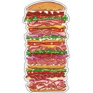 Наклейка Супер Бургер, фото 1