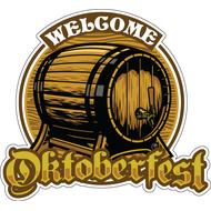 Наклейка Welcome to OktoberFest, фото 1