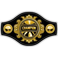 Наклейка Пояс Чемпиона, фото 1
