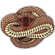 Наклейка Змея готовится к броску, фото 1