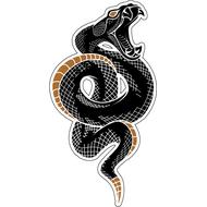 Наклейка Гремучая змея-005, фото 1