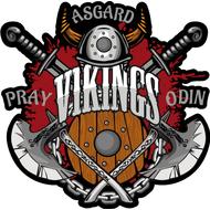 Наклейка Vikings Pray Odin, фото 1