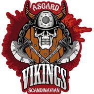 Наклейка Asgard Scandinavian Vikings, фото 1