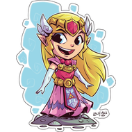 Стикер  The Legend of Zelda, Princess Zelda, фото 1