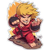 Стикер Street Fighter, фото 1
